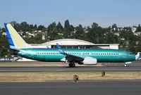 N1787B @ BFI - B.737-8U3 c/n 30149 landing after first flight from Renton carrying N1787B - by Duncan Kirk