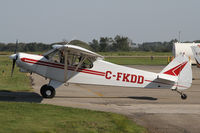 C-FKDD @ CNC3 - Great day to take the Cub up! - by Duncan Kirk