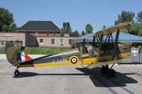 C-GSTP @ CNV8 - Tiger Moth named Audrey at Edenvale, ON - by Duncan Kirk