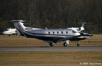 N2244 @ ORF - Pretty PC-12 just after touchdown