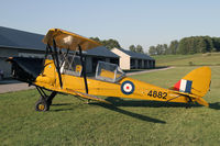 CF-TBS @ CNC4 - One of eight (!) Tiger Moths at Guelph - by Duncan Kirk
