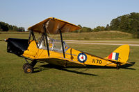 CF-CLW @ CNC4 - One of the eight Tiger Moths based at Guelph, ON - by Duncan Kirk