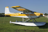 CF-YCR @ CNJ4 - Cessna 180 on floats - by Duncan Kirk