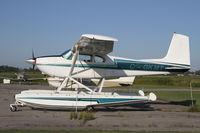 C-GKMT @ CNF4 - Nice Cessna 180 on floats - by Duncan Kirk