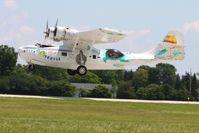 N222FT @ OSH - Arriving at Airventure 2010 - Oshkosh, Wisconsin - by Bob Simmermon