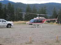C-FHZP @ OFF - Lakehead Helicopters, Chase BC. - by C.Dorrance