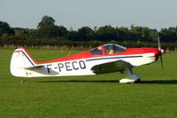 F-PECQ @ EGBK - Constructeur Amateur NICOLLIER HN 434, c/n: 02 at 2010 LAA National Rally at Sywell - by Terry Fletcher