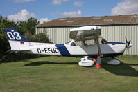 D-EFUC @ EGBR - Cessna 172S Skyhawk at Breighton Airfield's Summer Madness All Comers Fly-In in August 2010. - by Malcolm Clarke