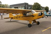 G-AGIV @ EGUB - Taken at RAF Benson Families Day, August 2009 - by Steve Staunton