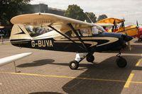 G-BUVA @ EGUB - Taken at RAF Benson Families Day, August 2009 - by Steve Staunton