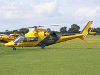 G-RSCU @ EGBK - Normally based at Coventry, the Sywell Airshow helps to raise funds for the Warwickshire & Northamptonshire Air Ambulance - by Chris Hall
