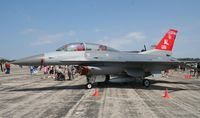 88-0151 @ YIP - F-16D - by Florida Metal