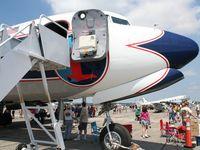 N836D @ YIP - DC-7B