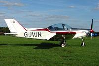 G-JVJK @ EGBK - PIONEER 300 HAWK  Serial No.: LAA 330A-14861 - by Terry Fletcher