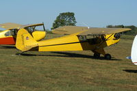 N6337H @ 40I - 1946 Piper J3C-65 - by Allen M. Schultheiss