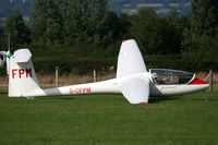 G-CFPM @ EGKH - EGKH Stranded at Headcorn waiting for a tow out