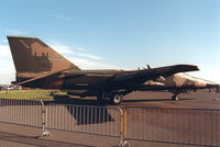 70-2402 @ EGQL - F-111F of 495th Tactical Fighter Squadron/48th Tactical Fighter Wing in the static display at the 1988 RAF Leuchars Airshow - by Peter Nicholson