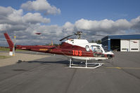 C-GHSW @ CYHD - Zimmer Air AS350 - by Andy Graf-VAP