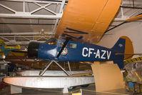 CF-AZV @ CYWG - Stinson SR8CM - by Andy Graf-VAP