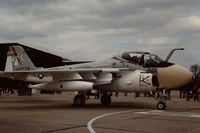 159576 @ EGDY - Coded 501/AE of VA-176 from the USS America Carrier Air Wing at RNAS Yeovilton Air Day in 1976. - by Roger Winser