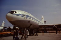CCCP-86000 @ LFPB - Prototype aircraft at the Paris Air Show, Le Bourget displaying the 1977 show #347. - by Roger Winser