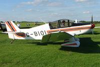 G-BIOI @ EGBK - 1964 Societe Aeronautique Normande JODEL DR1050-M (MODIFIED), c/n: 477 at 2010 LAA National Rally - by Terry Fletcher