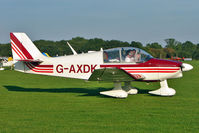 G-AXDK @ EGBK - 1969 Centre Est Aeronautique CEA DR315, c/n: 378 at 2010 LAA National Rally