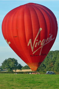 G-VBFI @ EGBK - Virgin Balloon in Sywell Car Park