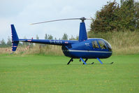 G-EVEV @ EGBK - 2005 Robinson R44 Raven ll, c/n: 10908 at Sywell - by Terry Fletcher