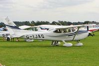 G-IJAG @ EGBK - 2005 Cessna CESSNA 182T, c/n: 18281683 at 2010 LAA National Rally