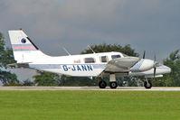 G-JANN @ EGBK - 1988 Piper PIPER PA-34-220T, c/n: 3433133 at 2010 LAA National Rally