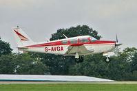 G-AVGA @ EGBK - 1966 Piper PIPER PA-24-260, c/n: 24-4489 at 2010 LAA National Rally
