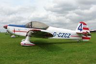 G-CZCZ @ EGBK - 1972 Avions Mudry And Cie CAP 10B, c/n: 54 at 2010 LAA National Rally