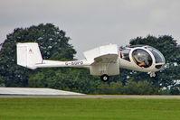 G-BOPO @ EGBK - 1993 Fls Aerospace (lovaux) Ltd OA7 OPTICA SERIES 301, c/n: 021 at 2010 LAA National Rally