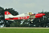 G-AZCN @ EGBK - 1972 Beagle Aircraft Ltd BEAGLE B121 SERIES 2, c/n: B121-156 at 2010 LAA National Rally