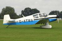 G-ATWA @ EGBK - 1962 Societe Aeronautique Normande JODEL DR1050, c/n: 296 at 2010 LAA National Rally