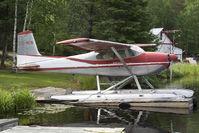 C-FMEN @ CKH6 - Cessna 180 - by Andy Graf-VAP