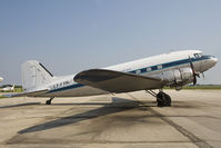 CF-FTR @ CYGM - FNT Air DC-3 - by Andy Graf-VAP