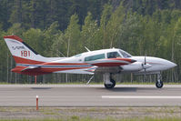 C-GYNE @ CYFO - Province of Manitoba Cessna 310 - by Andy Graf-VAP