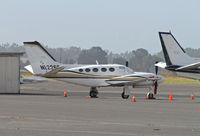 N12268 @ KAPC - 1985 Cessna 425 visiting from KSBA - by Steve Nation