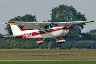 G-BHUJ @ EGBK - Kevin Dupuy in his 1979 Cessna CESSNA 172N, c/n: 172-71932 at 2010 LAA National Rally