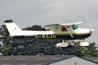 G-BSJU @ EGBK - 1974 Cessna CESSNA 150M, c/n: 150-76430 at 2010 LAA National Rally