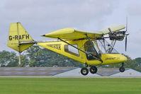 G-RAFH @ EGBK - 2002 Thruster Air Services Ltd THRUSTER T600N 450, c/n: 0032-T600N-063 at 2010 LAA National Rally