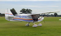 G-CFIA @ EGKH - SHOT AT HEADCORN - by Martin Browne