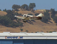 N1380J @ KCCR - Locally-based 1975 Rockwell Intl 112A airborne from RWY19L at Buchanan Field - by Steve Nation