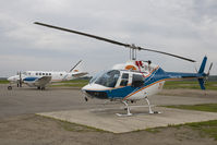 C-GYHY @ CYPA - Transwest Air Bell 206 - by Andy Graf-VAP