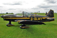 G-BLWY @ EGBK - 1980 Avions Pierre Robin PIERRE ROBIN R2160, c/n: 176 at 2010 LAA National Rally