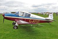 G-AYUT @ EGBK - 1964 Societe Aeronautique Normande JODEL DR1050, c/n: 479 at 2010 LAA National Rally