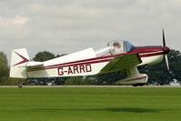 G-ARRD @ EGBK - 1961 Societe Aeronautique Normande JODEL DR1050 (MODIFIED), c/n: 274 at 2010 LAA National Rally