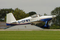 G-CFWV @ EGBK - 2009 SINGTON DK VANS RV-7, c/n: PFA 323-14428 at 2010 LAA National Rally